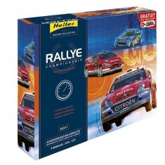 Maquettes voitures : Kit complet: Rallye Championship