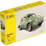 Maquette voiture: Renault 4 CV verte