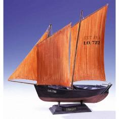 Maquette bateau: Sinagot