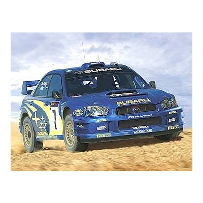 Maquette voiture : Subaru Impreza WRC '03 - Heller-80750