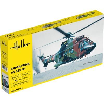 Maquette hélicoptère: Super Puma AS 332 M1 - Heller-80367