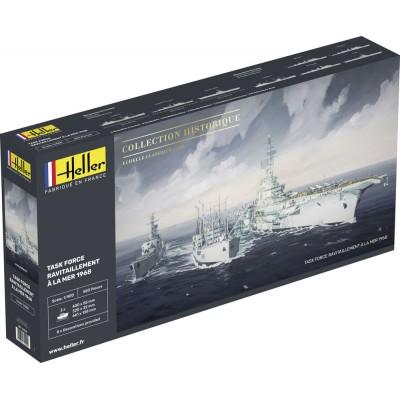 Maquette bateau: Task Force Ravitaillement à la Mer - Heller-81092