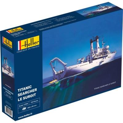 Maquette bateau: Titanic Seacher: Le Suroit - Heller-80615