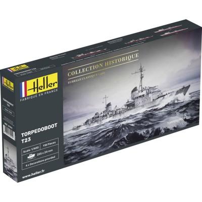 Maquette bateau: Torpedoboot T23 1943 - Heller-81011