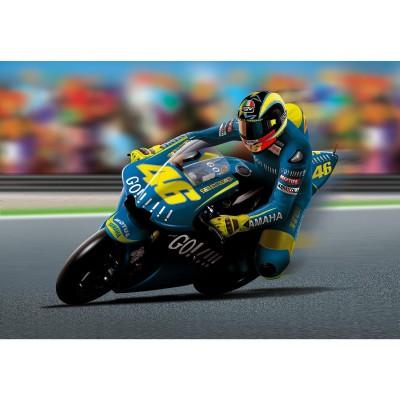 Maquette Moto: Yamaha YZR M1 2004 : Valentino Rossi - Heller-80913