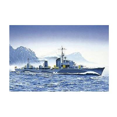 Maquette bateau: Zerstörer Z31 1942 - Heller-81010