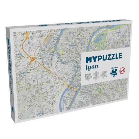 Puzzle 1000 pièces : My Puzzle Lyon - Helvetiq-99646-0546