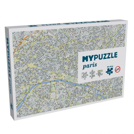 Puzzle 1000 pièces : My Puzzle Paris - Helvetiq-99639-0639