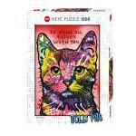 Puzzle 1000 pièces : Cats 9 lives