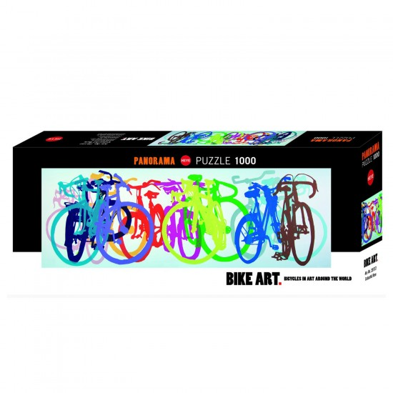 Puzzle 1000 pièces : Colourful Row - Heye-58170