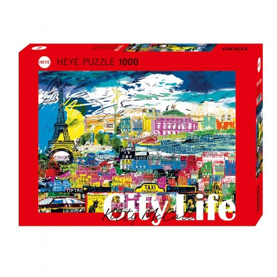 Puzzle 1000 pièces : I love Paris - Heye-58199