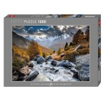Puzzle 1000 pièces : Mountain Stream