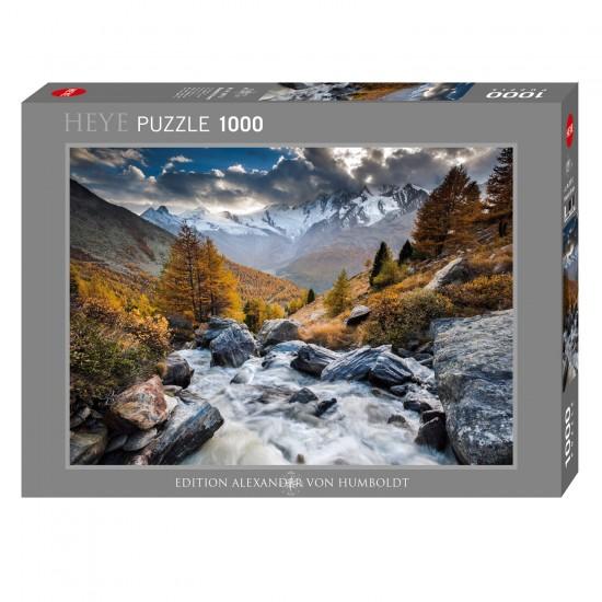 Puzzle 1000 pièces : Mountain Stream - Heye-58206