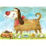 Puzzle 1000 pièces - Degano : Une vie de chien