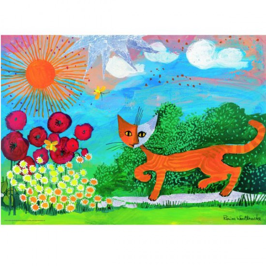 Puzzle 1000 pièces - Rosina Wachtmeister : Marguerites - Heye-29448-58133