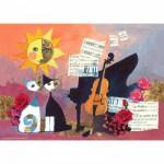 Puzzle 1000 pièces - Rosina Wachtmeister : Violoncelle