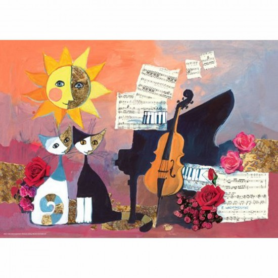 Puzzle 1000 pièces - Rosina Wachtmeister : Violoncelle - Heye-29449-58134