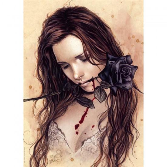 Puzzle 1000 pièces - Victoria Francès - Favole : Dark rose - Heye-29430-58251