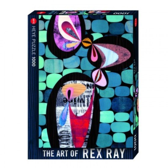 Puzzle 1000 pièces : Allarga, Rex Ray - Mercier-29476-58516
