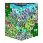 Puzzle 1000 pièces : Alpage fun, Birgit Tanck