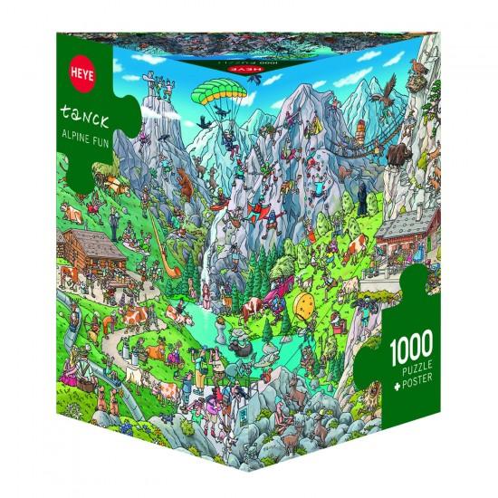 Puzzle 1000 pièces : Alpage fun, Birgit Tanck - Heye-29680-58331