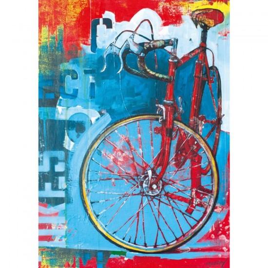 Puzzle 1000 pièces : Bike Art, Red limitec - Mercier-29600-58290