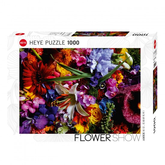 Puzzle 1000 pièces : Bright Lily - Heye-58217