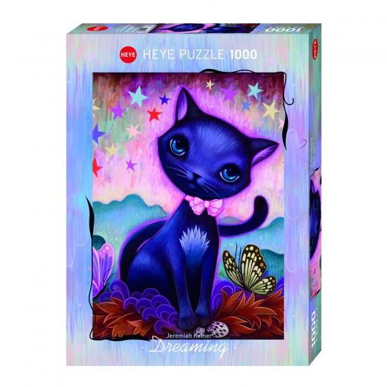 Puzzle 1000 pièces : Chat Noir, Jeremiah Ketner - Heye-29687-58335