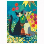 Puzzle 1000 pièces : Flowerbed, Rosina Wachtmeister