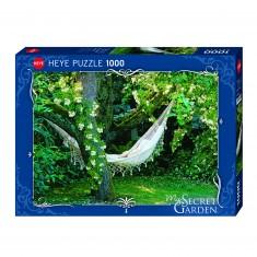 Puzzle 1000 pièces : Hamac