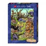 Puzzle 1000 pièces : Savane