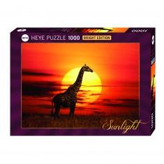 Puzzle 1000 pièces : Sunny Girafe