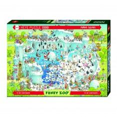 Puzzle 1000 pièces : Zoo, habitat polaire