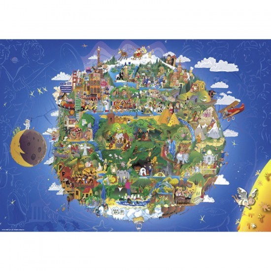 Puzzle 1000 pièces Anders Lion : La terre - Heye-29521-58277