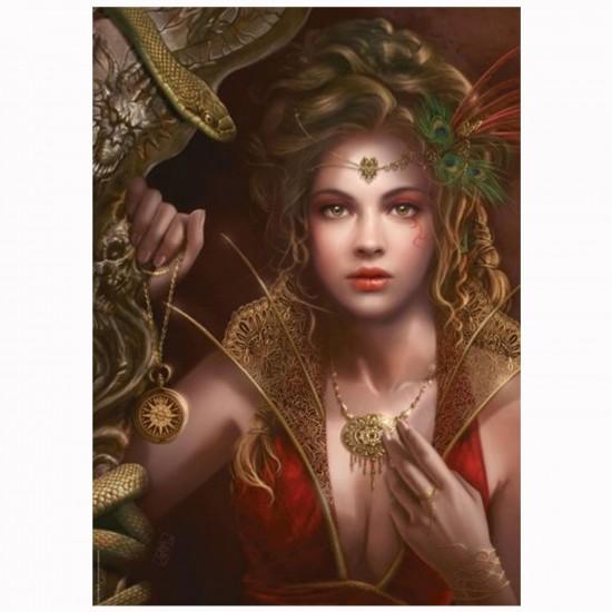 Puzzle 1000 pièces Cris Ortega : Bijoux en or - Mercier-29614-58306