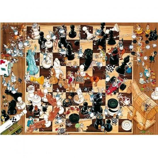 Puzzle 1000 pièces - Degano : Noir ou blanc - Heye-08793-58156