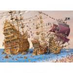Puzzle 1000 pièces François Ruyer : Corsaires