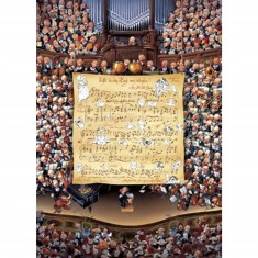 Puzzle 1000 pièces Jean-Jacques Loup : Score
