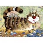 Puzzle 1000 pièces Marino Degano : Vie de chat