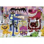 Puzzle 1000 pièces Michael Slack : Monstertown