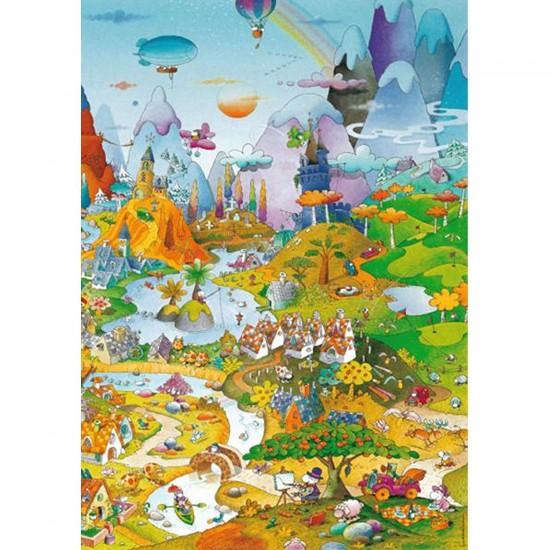 Puzzle 1000 pièces - Mordillo : Idylle - Heye-29230-58155