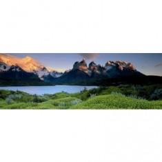 Puzzle 1000 pièces panoramique - Alexander von Humboldt : La plaine