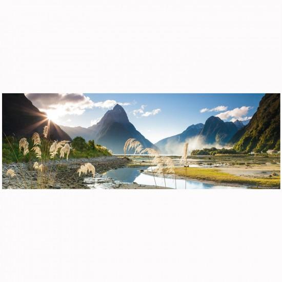 Puzzle 1000 pièces panoramique Edition Alexander Humboldt : Sarah Sisson, Milford Sound - Mercier-29606-58374