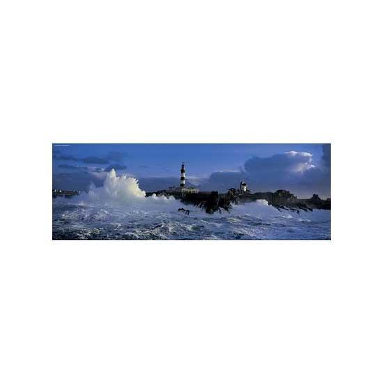 Puzzle 1000 pièces panoramique - Jean Guichard : Phare Le Créach - Heye-29286-58169