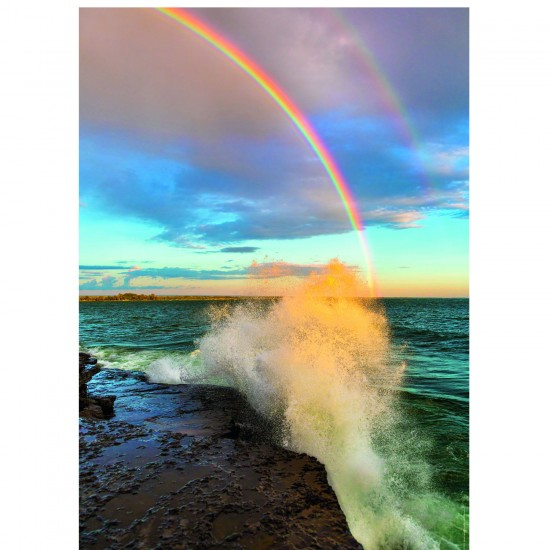 Puzzle 1000 pièces Power of Nature : Rainbow - Heye-29738-58284