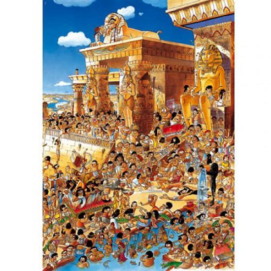 Puzzle 1000 pièces - Prades : Egypte - Heye-26008-58151
