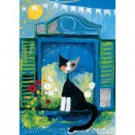Puzzle 1000 pièces - Rosina Wachtmeister : A la fenêtre