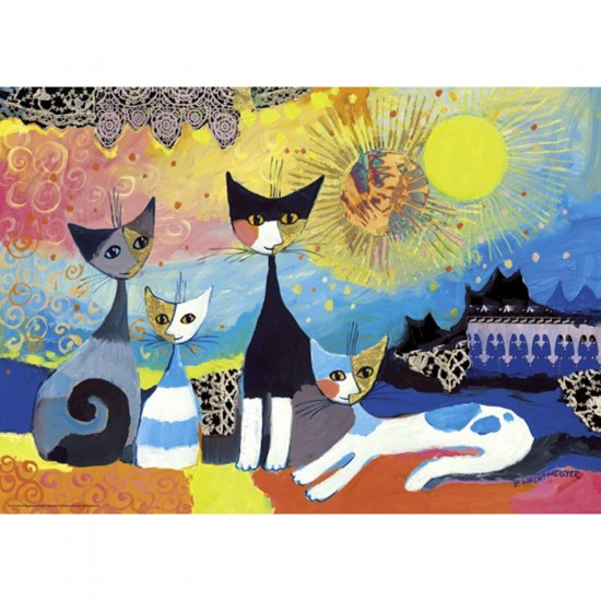 Puzzle 1000 pièces Rosina Wachtmeister : Lacets - Heye-29524-58222