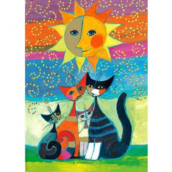 Puzzle 1000 pièces - Rosina Wachtmeister : Le Soleil - Heye-29158-58131