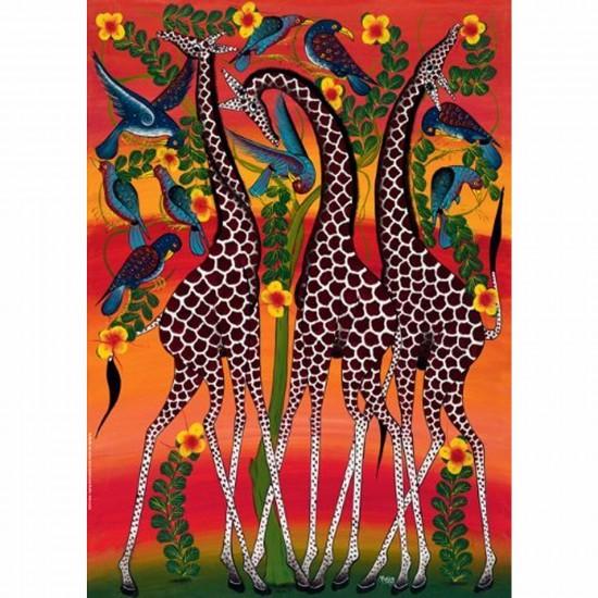 Puzzle 1000 pièces - Tinga tinga : Girafes - Heye-29426-58128